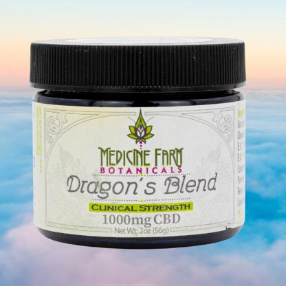Dragons Blend CBD Balm 2oz